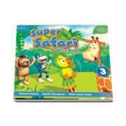 Super Safari Level 3 Pupils Book with DVD-ROM (Louise Hashemi)