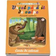 Ursul pacalit de vulpe - Carte de colorat