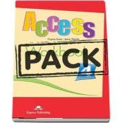 Acces 4. Workbook with Digibook app (Virginia Evans)