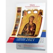 Calendar Crestin Ortodox 2021 cu icoane: Sfanta Cuvioasa Parascheva