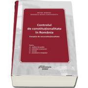 Controlul de constitutionalitate in Romania