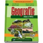 Manual de geografie pentru clasa a VIII-a