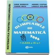 Olimpiade de matematica 2006, pentru clasa a IX-a