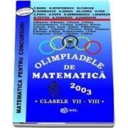 Olimpiade de matematica 2003, pentru clasele VII-VIII