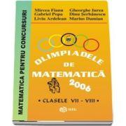 Olimpiade de matematica 2006, pentru clasele VII-VIII
