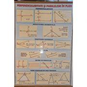 Plansa duo - Perpendicularitate si paralelism. Puteri si radicali