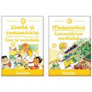 Set doua carti, A4, grupa mica 3-4 ani (Mariana Andreianu)