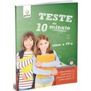 Teste de 10 minute, pentru clasa IV