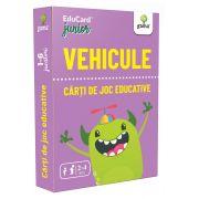 Vehicule, Carti de joc educative 2-4 ani - 50 de carduri cu vehicule