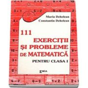 111 Exercitii si probleme de matematica - Clasa I