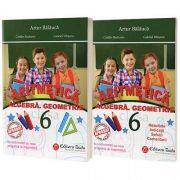 Auxiliar de aritmetica, algebra, geometrie pentru clasa a VI-a. Contine brosura