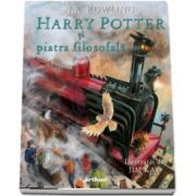 Harry Potter si piatra filosofala, editie ilustrata - J. K. Rowling