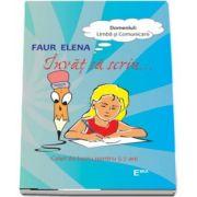 Invat sa scriu - Caiet de lucru pentru copiii de 5-7 ani