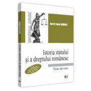 Istoria statului si a dreptului romanesc
