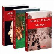Seria de autor Mircea Eliade - 3 carti. Nunta in cer, India Santier, Maitreyi