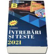 Intrebari si teste 2021, categoria B. Pentru obtinerea permisului de conducere auto