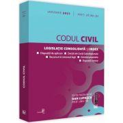 Codul civil: IANUARIE 2021 de Dan LUPASCU