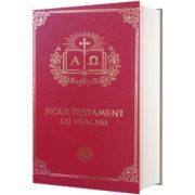 Noul Testament cu Psalmii, coperta grena aurit