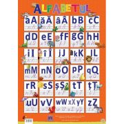 Plansa - Alfabetul