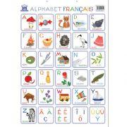 Plansa. Alfabetul ilustrat al limbii franceze