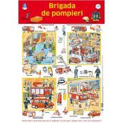 Plansa - Brigada de pompieri