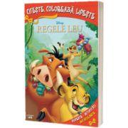 Regele leu. Citeste, coloreaza, lipeste (Disney)