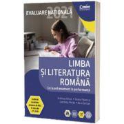 Teste pentru Evaluare Nationala 2021 la limba si literatura romana, Andreea Nistor, Corint