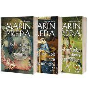 Cel mai iubit dintre pamanteni. Set de 3 volume, Marin Preda, Cartex