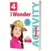 Curs de limba engleza iWonder 4 Caiet cu Digibook App, Jenny Dooley, Express Publishing
