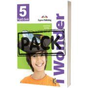 Curs de limba engleza iWonder 5 Manualul elevului cu Iebook, Jenny Dooley, Express Publishing