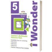 Curs de limba engleza iWonder 5 Material multimedia pentru profesori set 5 CD, Jenny Dooley, Express Publishing