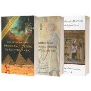 Set 3 carti de autor Toni Victor Moldovan. Programul Terra (Vol 1 si 2) si Cartea egipteana a mortilor
