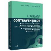Legislatia contraventiilor: aprilie 2021. Editie tiparita pe hartie alba
