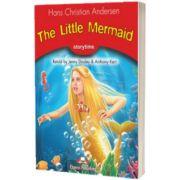 Literatura adaptata pentru copii. The little mermaid cu Digibook App, Hans Christian Andersen, Express Publishing