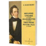 Melodie ungara, allegretto, trei piese pentru pian