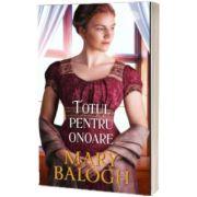 Totul pentru onoare, Mary Balogh, Litera