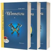 Winnetou. Set de 3 carti, Karl May, Cartex