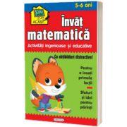 Scoala acasa - Invat matematica (5-6 ani), Girasol