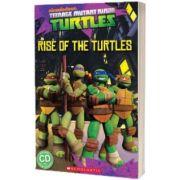 Teenage Mutant Ninja Turtles. Rise of the Turtles, Fiona Davis, SCHOLASTIC