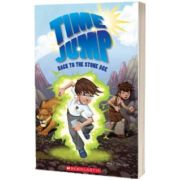 Time Jump. Stone Audio, Paul Shipton, SCHOLASTIC