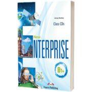 Curs limba engleza New Enterprise B1+ Audio Set 4 CD, Jenny Dooley, Express Publishing