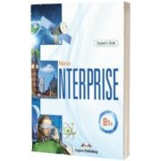 Curs limba engleza New Enterprise B1+ Manual cu Digibook App, Jenny Dooley, Express Publishing