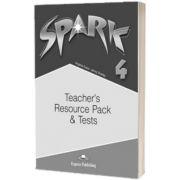 Curs limba engleza Spark 4 Monstertrackers. Material aditional pentru profesor si teste, Jenny Dooley, Express Publishing