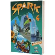 Curs limba engleza Spark 4 Monstertrackers. Pachetul elevului, Jenny Dooley, Express Publishing