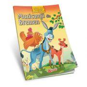 Muzicantii din Bremen - Povesti de colorat