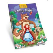 Scufita Rosie - Povesti de colorat