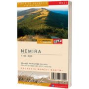 Harta de drumetie a Muntilor NEMIRA, SCHUBERT AND FRANZKE