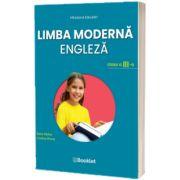 Limba moderna Engleza. Manual pentru clasa a III-a, Sticlea Elena, BOOKLET