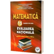 Matematica. 15 modele de teste pentru evaluare nationala la clasa a VIII-a, Catalin Petru Nicolescu, ICAR
