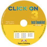 Curs limba engleza Click On 3. CD-ROM cu teste